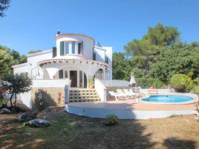 "Villa situated in the peaceful and tranquil area of ""Sa Roca"", Menorca"
