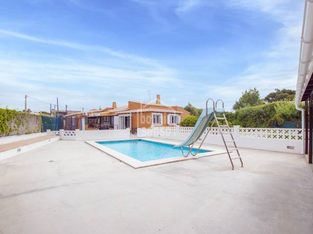 Large villa with annex and swimming pool in Son Vilar, Menorca