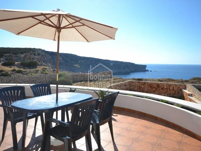 Beautiful front line villa in Cala Morell, Ciutadella, Menorca
