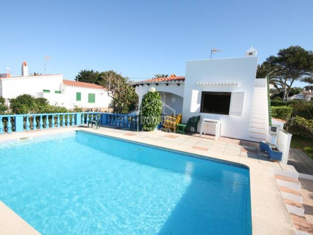 Villa located only a few minutes from Binibeca beach, Menorca