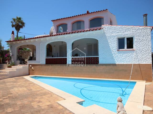 A really lovely, comfortable villa set in a small hamlet with good open views in Son Vilar