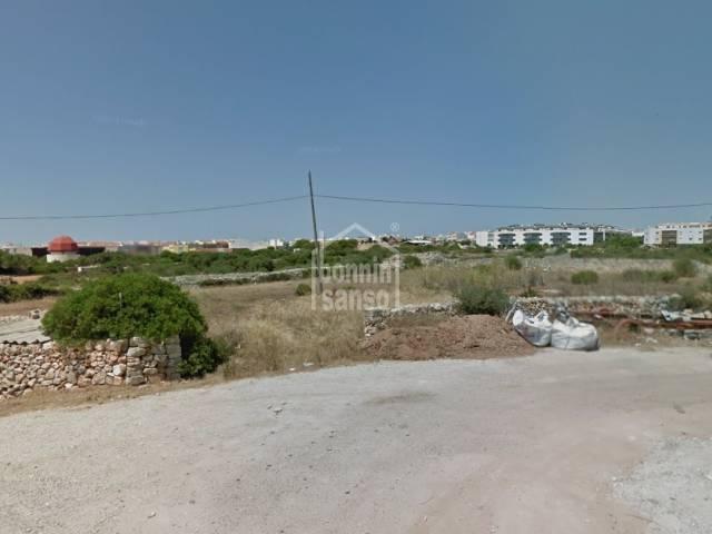 Rustic land of approx 15.000m² close to the road Via Ronda Sur, Ciudadela, Menorca.