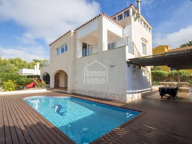 Immaculate villa in Cala Blanca, Ciutadella, Menorca