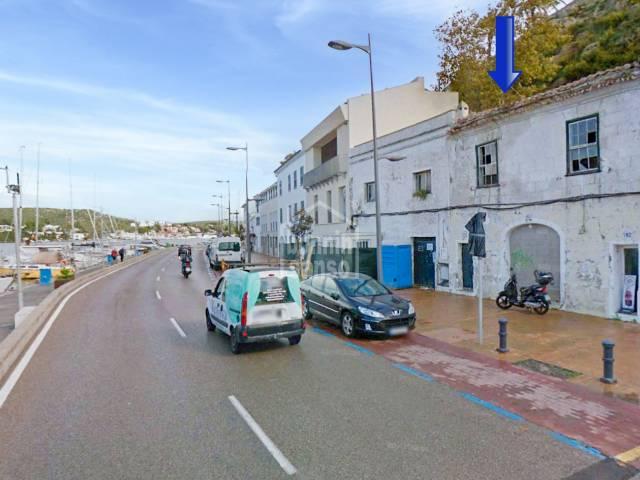 New build in Mahon port, Menorca