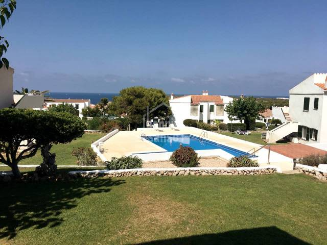 Ground floor apartment with sea view in Arenal d'en Castell, Menorca