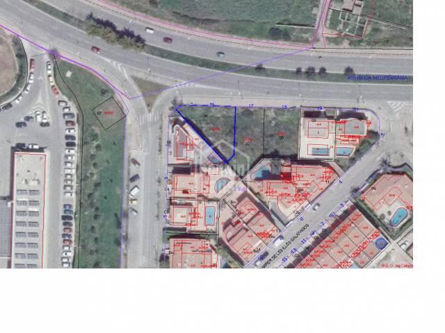 Parcela de 340m² en la solicitada Urbanización de Malbuger