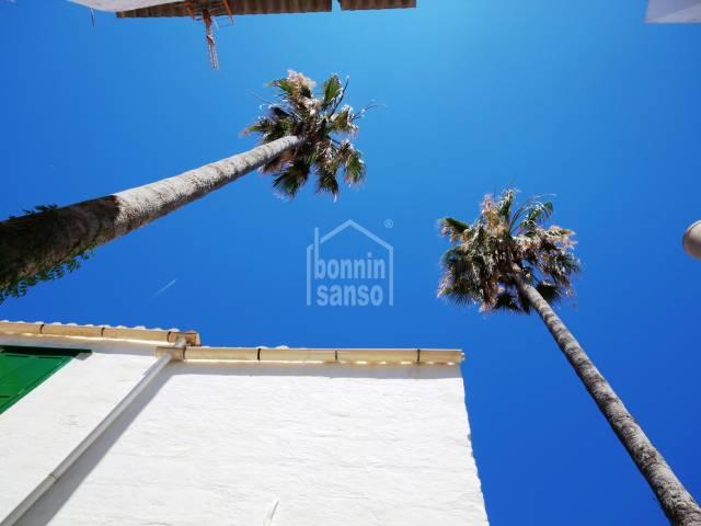 Encantadora casa de pueblo en planta baja con terraza y jardín en Es Castell