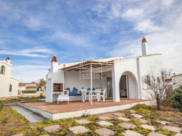 Posiblemente la mejor vista de Binibeca Vell. Menorca.