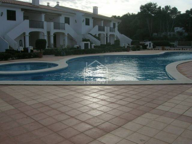 Lovely ground floor apartment in Addaia in Menorca