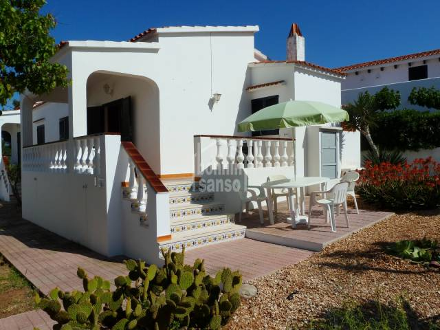 Holiday home by the sea in Menorca