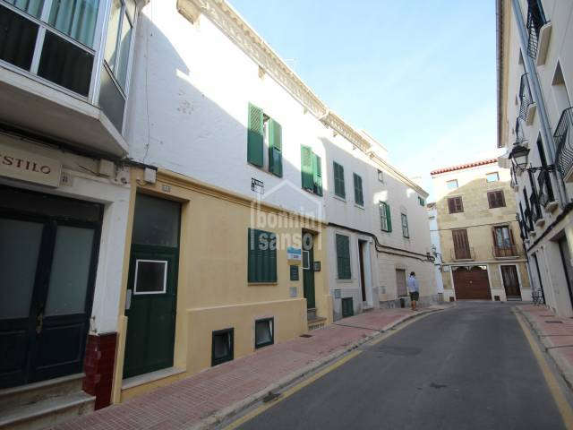 Town house with a large garage in Alayor, Menorca