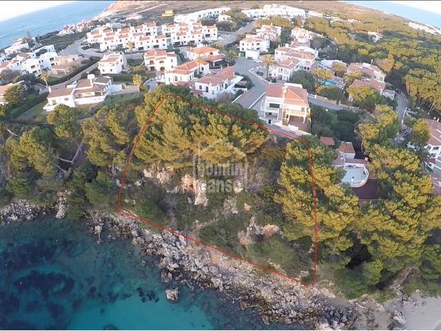 Plot Land with project, front line sea views in Punta Grossa