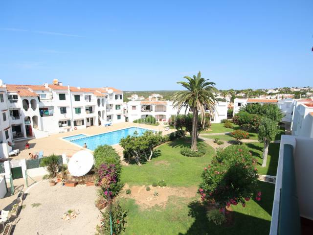 Apartment in the center of Calan Porter, Menorca