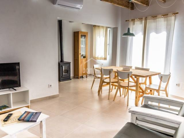 Attractive town house right in the centre of Ferrerias, Menorca.