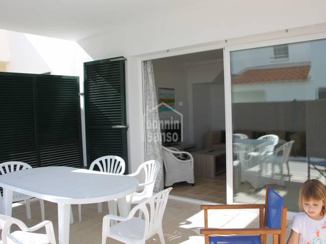 Casa adosada cerca de la playa de Arenal, Punta Grossa, Menorca