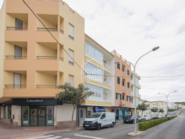Nice and large appartment in the center of Ferrerias, Minorca