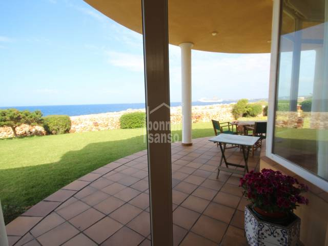 Beautiful water side villa in Cala Blanca, Ciutadella