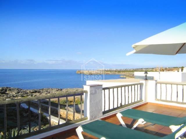 Coqueta casita en segunda linea de mar con maravillosas vistas, Binibeca, Menorca