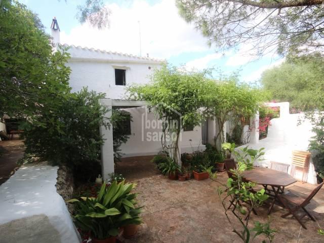 Maison rurale située dans la région de Binixems à Minorque