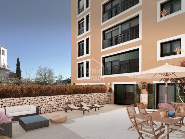 New promotion of exclusive flats in Mahón,Menorca