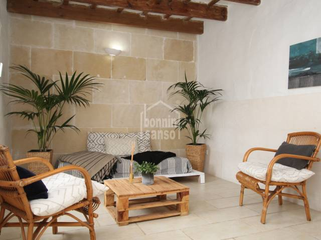 Superb semi detached farmhouse in Sant Lluis, Menorca