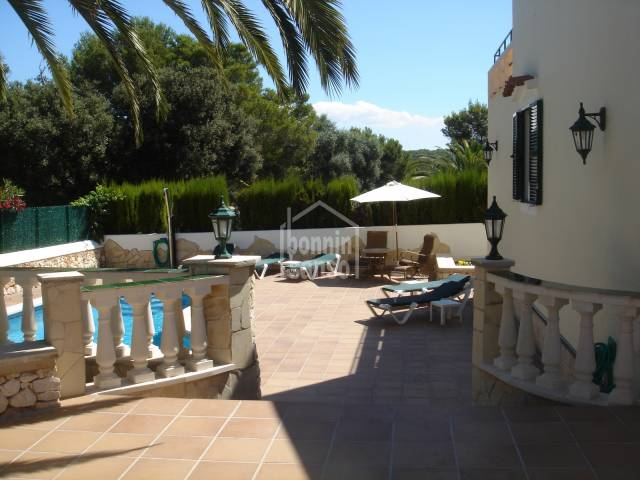 Beautiful villa in quiet area of Cala Galdana, Ferrerias, Menorca