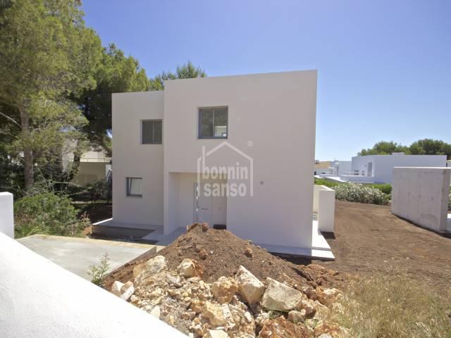 Villa de Nueva construccion. Coves Noves. Menorca