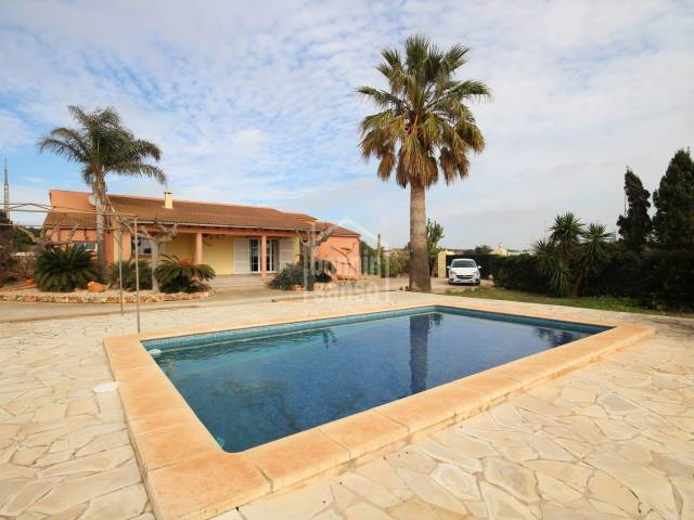 Pretty house in the country with tourist license, Ciutadella, Menorca