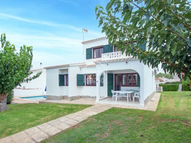 Villa with tourist license in Torre Soli Nou, Menorca