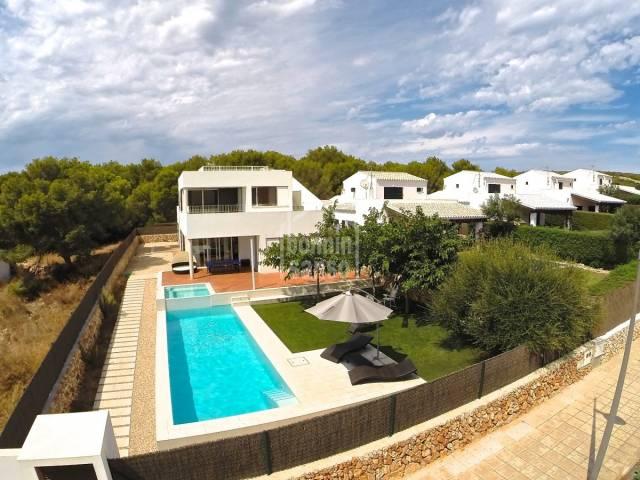 Villa contemporanea en Biniancolla, Sant Lluis, Costa Sur, Menorca