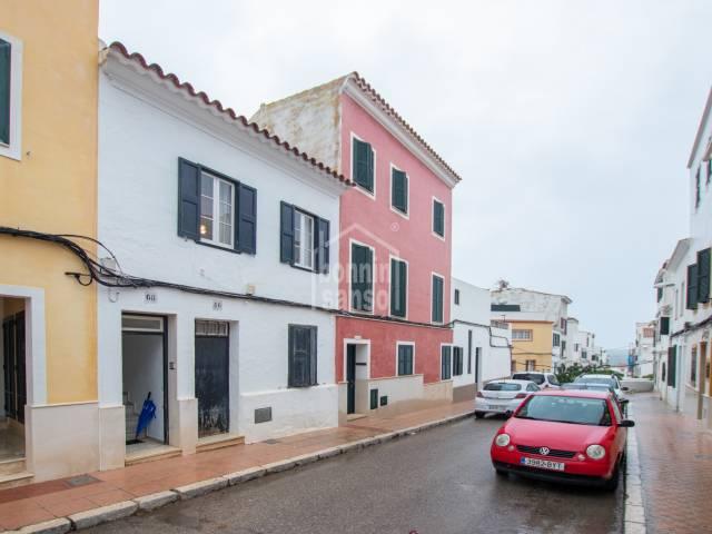 Interesting house in Mahón, Menorca.