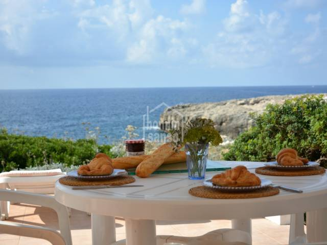 Villa in first line in Binibeca Vell in Menorca