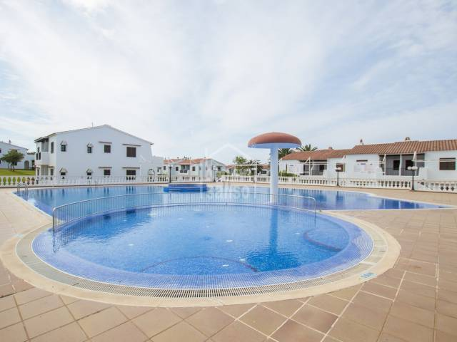 Ground floor apartment in the Urbanization of San Jaime, Menorca