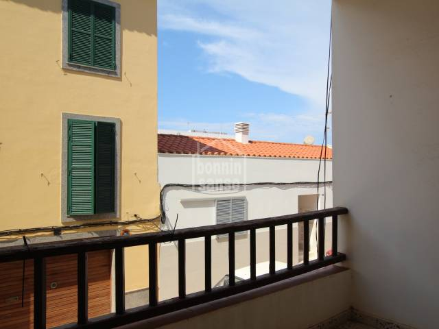 First floor flat situated in a quiet area of Es Castell, Menorca.
