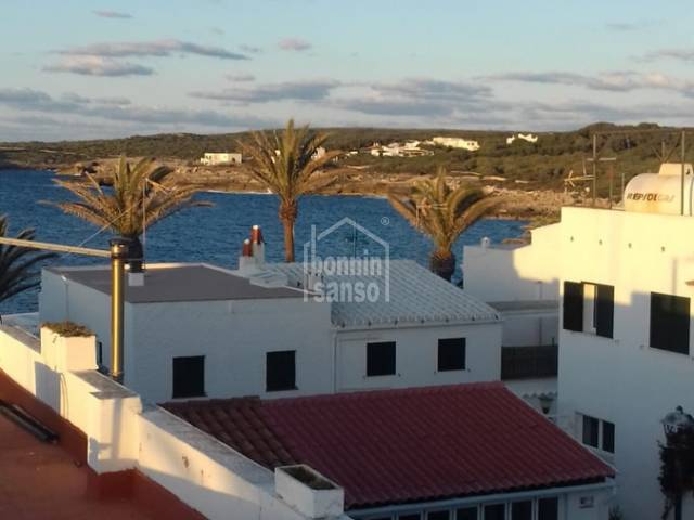 Town house of approx. 82sqm plus terraces located in Salgar, Menorca with sea views.
