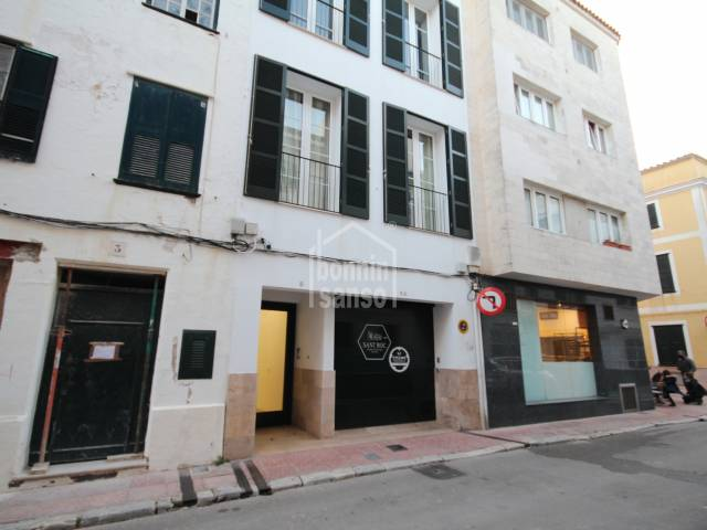 Modern two storey apartment right in the centre of Mahon, Menorca