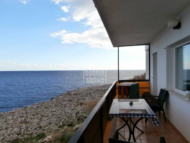 Front line apartment with amazing sea views in Cala Morlanda