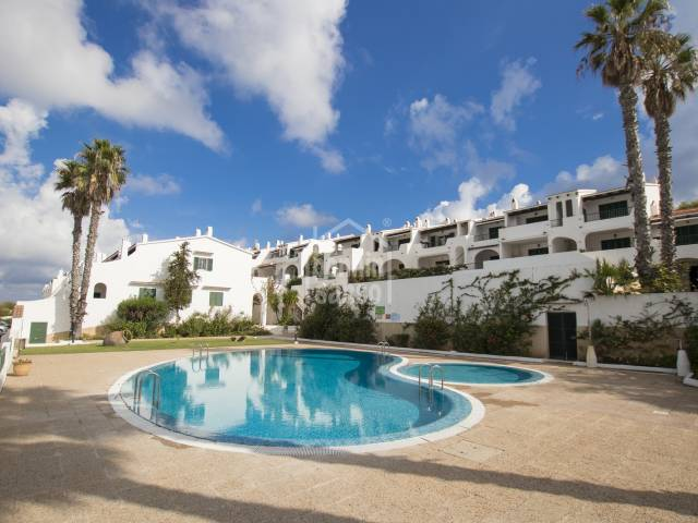 Beautiful holiday apartment only minutes from the sandy beach of Son Parc, Menorca