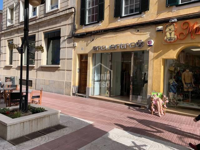 Local comercial en pleno centro de Mahón, Menorca