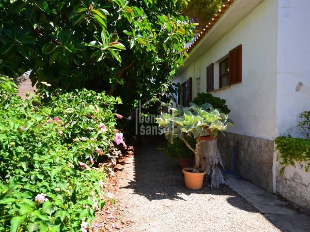 Típica casa mallorquina para vacaciones o fin de semanas en Cala Millor, Mallorca,