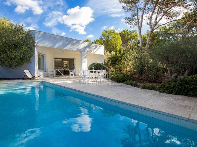 A beautiful, modern villa in Addaya, Menorca
