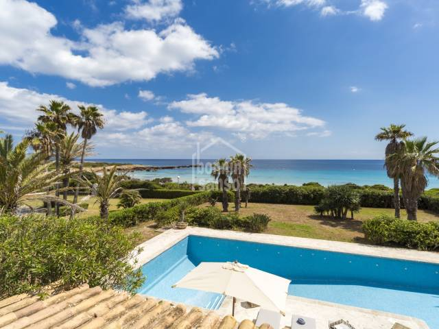 Magnificent property  in front of the sea in Son Xoriguer
