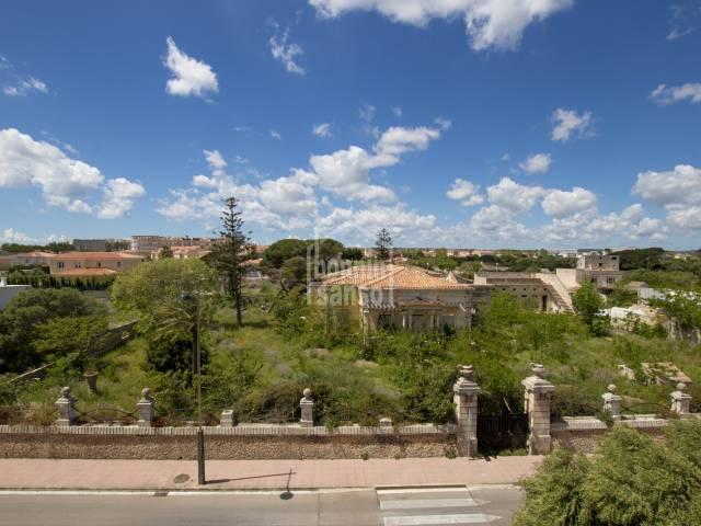 Edificable/Edifici/Casa a Mahón (Ciutat)
