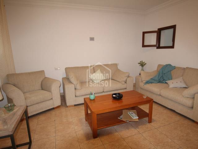 Pretty first floor house inthe centre of Mahon, Menorca