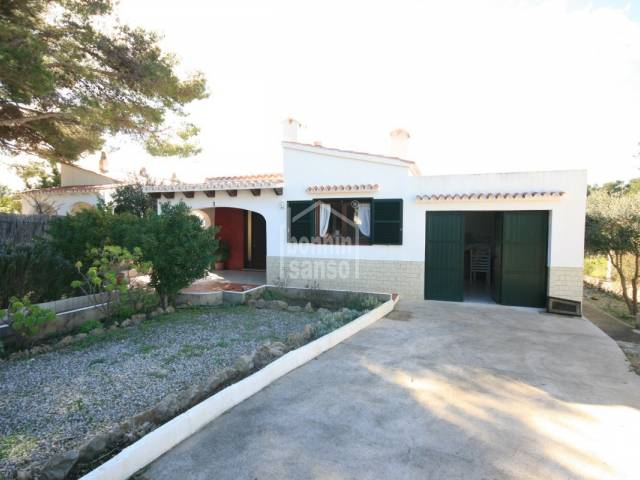 Villa with private garden and pool in Addaya, Menorca