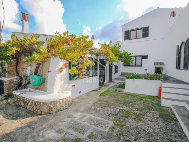 Encantadora propiedad en el campo, cerca de Alayor.Menorca