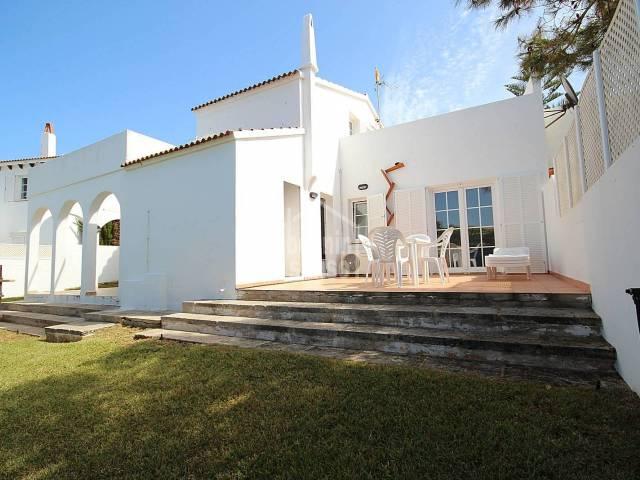Charming villa with views to the sea in Los Delfines, Ciutadella, Menorca