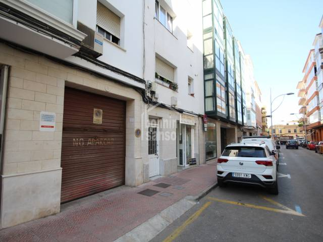 Parking space in Miguel de Veri, Mahon, Menorca