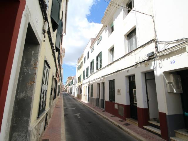 Flat/apartment with large terrace in Mahon, Menorca