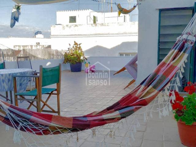 Completely reformed first floor house in the centre of Mahón, Menorca